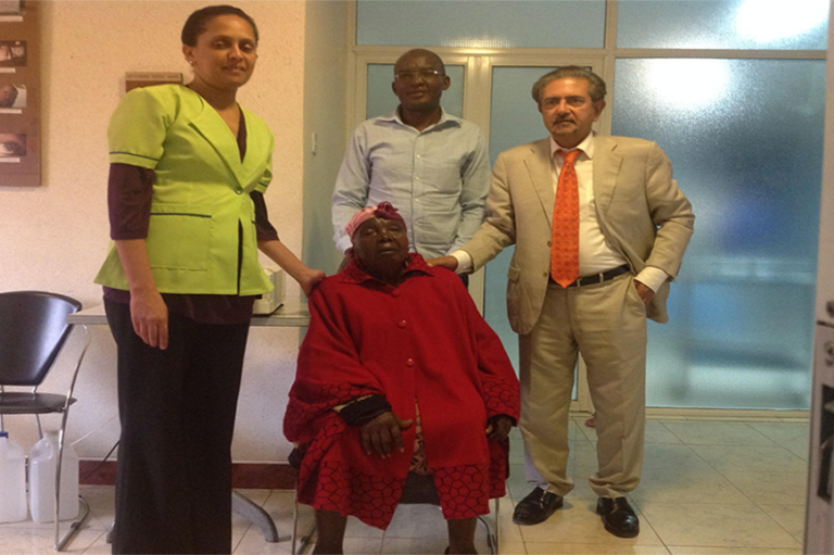 103-Year Old Undergoes Successful Cataract Surgery!